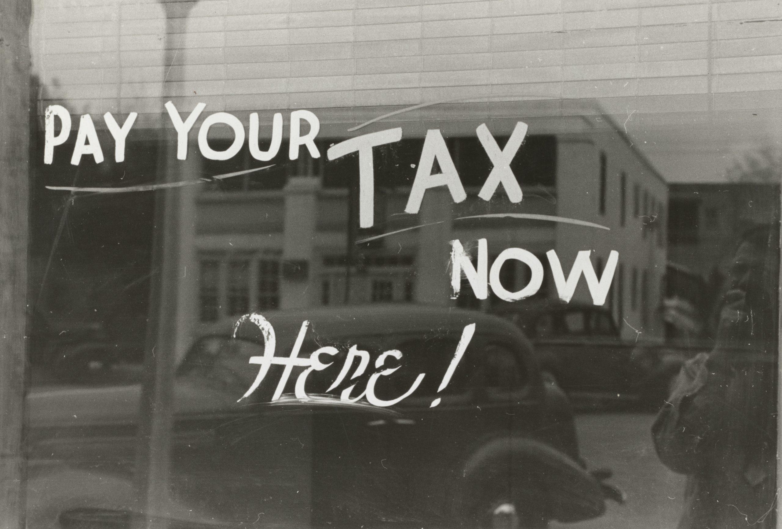 個人事業主が払う4種類の税金